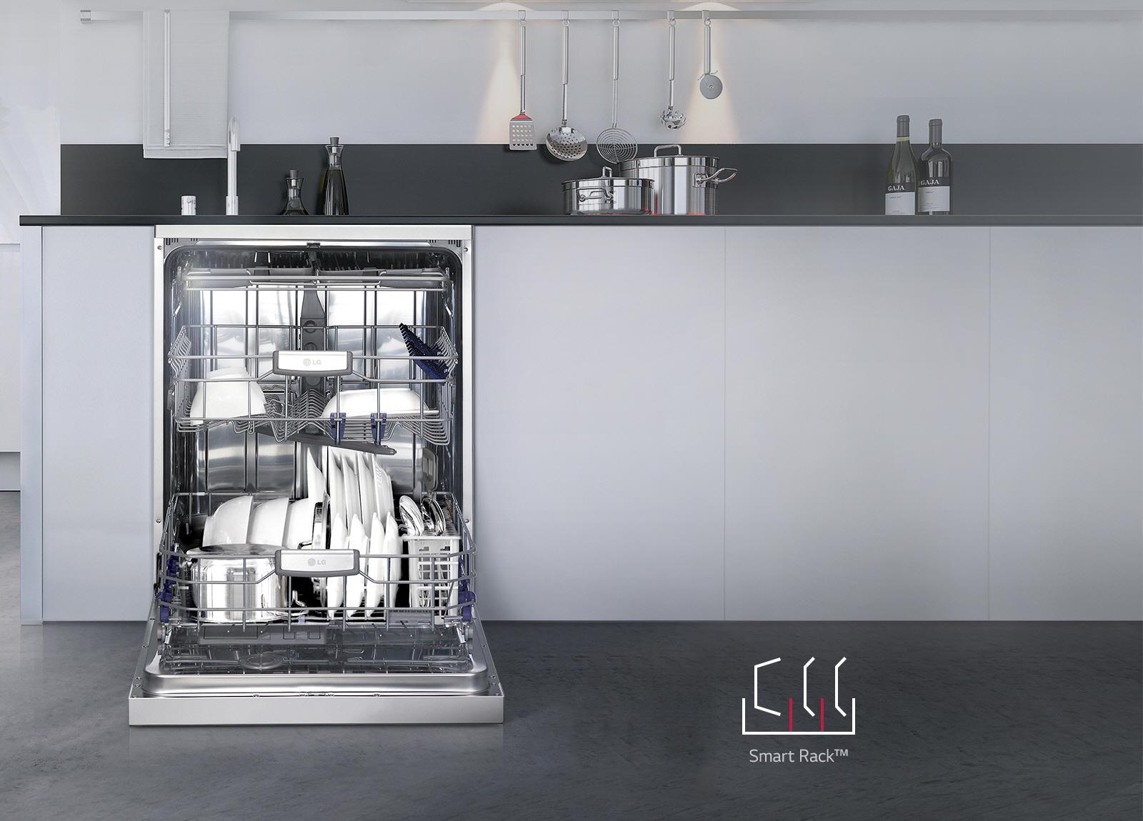 ماشین ظرفشویی ال جی مدل D1452